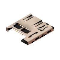 Conectores para tarjetas de memoria