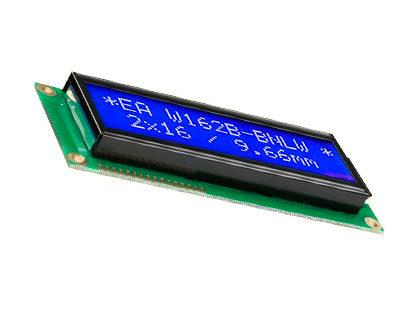Displays alfanumericos LCD