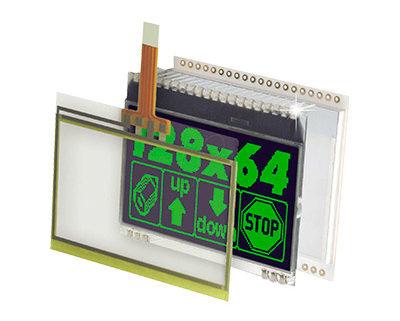 Displays gráficos LCD