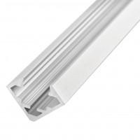 Perfil de aluminio recto para empotrar OP-PA-SA06