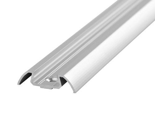 Perfil de Aluminio para LED con acabado Curvo
