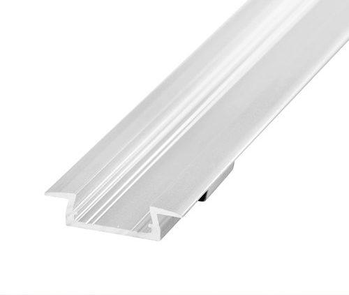 Perfil para LED de aluminio para empotrar 6mm