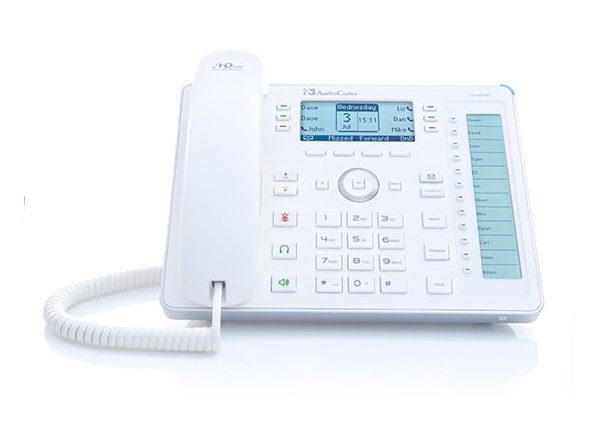 Teléfono empresarial Audiocodes 440HD