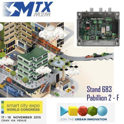 MTXM2M at SmartCityExpo