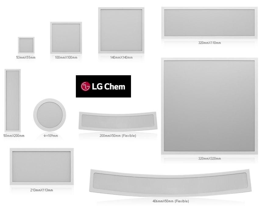 LG Chem Oled productos