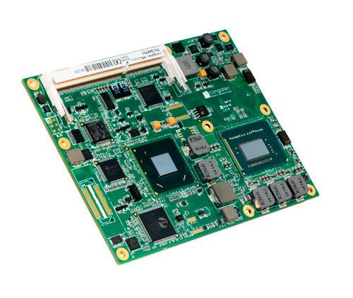 Módulo básico con Intel Core de 3ª generación – conga-BS77/BP77