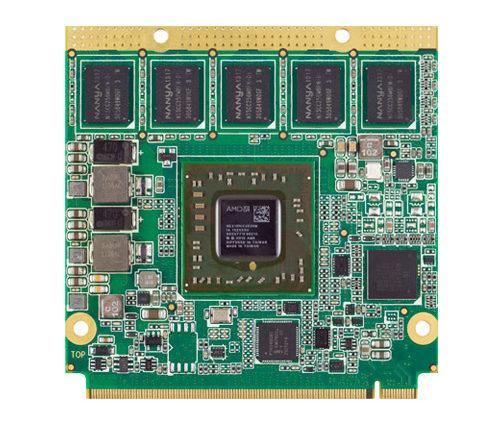 Módulo de bajo consumo con procesadores AMD G-Series – conga-QG