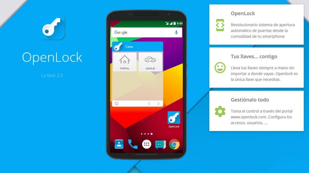 Intergate Openlock app remote accesses