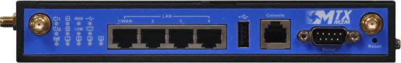 4G Router Ethernet ports mtxm2m